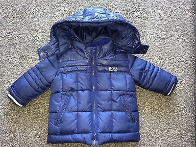 hugo boss baby coat