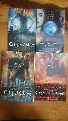 The Mortal Instruments by Cassandra Clare books 1-4