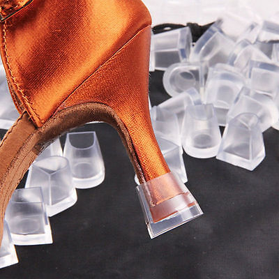 30PCs Clear Wedding High Heel Shoe Protector Stiletto Cover Stoppers