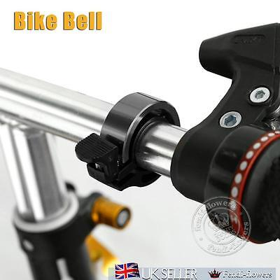 New Aluminum Alloy Loud Horn Bike Cycling Handlebar Alarm Ring Bicycle Bell UK