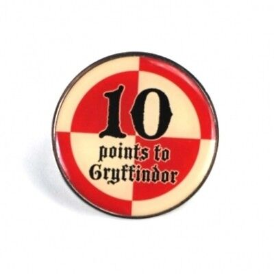 Harry Potter : ENAMEL 10 POINTS TO GRYFFINDOR BADGE from Half Moon Bay