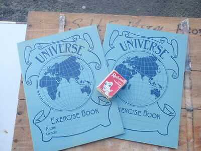 Two unused school Exercise books