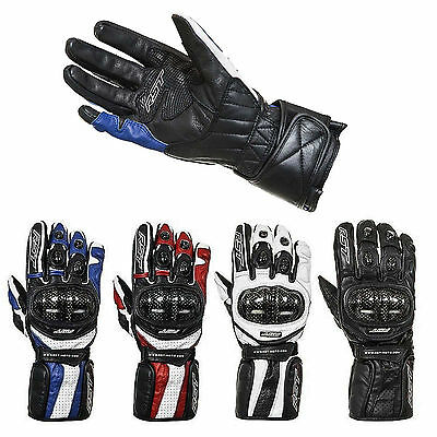RST Delta 2 2541 CE Approved Motorcycle Sport Race Gloves Black Red Blue White
