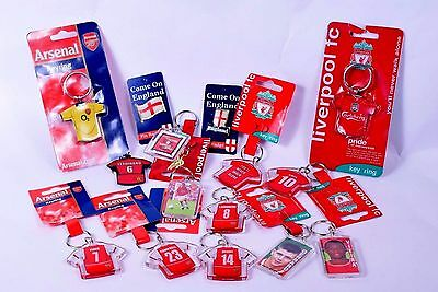 Football Club Keyring Party Loot Bag Gifts Fillers Filler Birthday Boy Fan