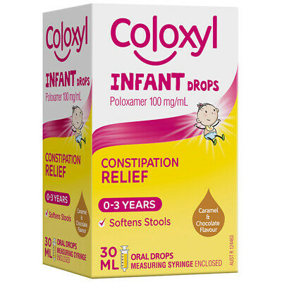 Coloxyl Oral Drops 30ml For Oral Use To Relieve Constipation In Infants