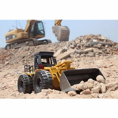 Truck Bulldozer RC 6CH Remote Control Simulation Caterpillar Track Motorized New