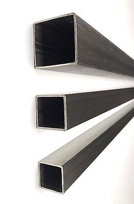 Square Tube Metal Bar Box Section 30mm 40mm 50mm Stainless Steel Dull Polished