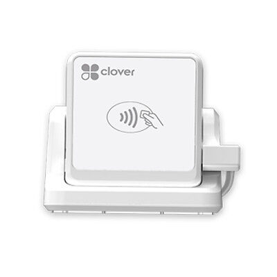 * New Clover Go Contactless Reader with Stand - Chip/EMV, NFC, Apple Pay & Swipe