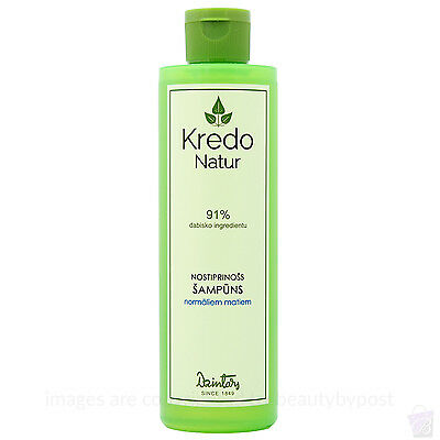 Strengthen your hair natural shampoo for normal hair