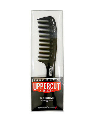 Uppercut Deluxe BB7 Black Barber Barbershop Mens Hair Style Styling Comb