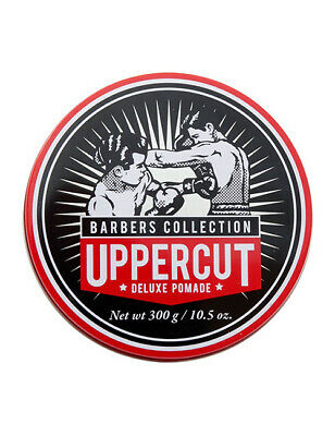 Mens Uppercut Deluxe Pomade Barber Barbershop Hair Styling 300g XL Tin Tub