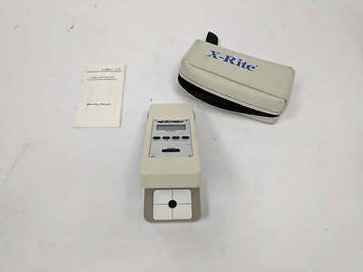 X-Rite 331 Battery Operated B/W Trans. Densitometer w/ Case and Manual
