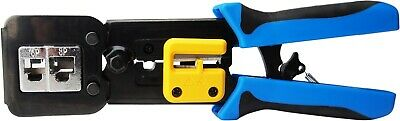 Ratcheting Crimping Plier Tool Ratchet Wire Crimper for AWG: 20-18, 6-14, 12-10