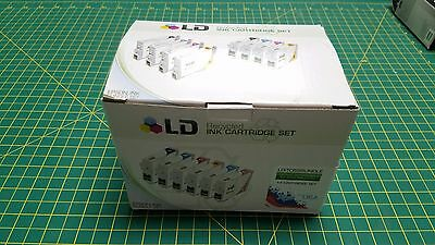 LD Recycled Ink Cartridge Set of 14 - Compatible w/ Epson CMYK
