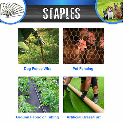 Professional Landscape Sod Staples Commercial Grade used for Weed Barrier