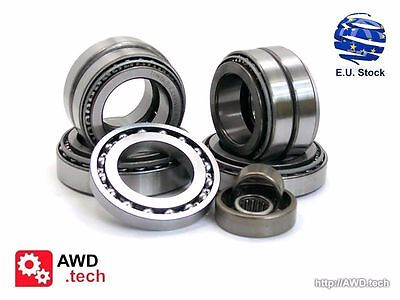 ,for a Mercedes-Benz 4-Matic Transfer Case bearing Kit 4 bearings//races /& 2 seal