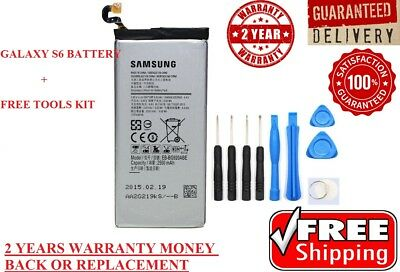 New OEM Internal Replacement Battery for Samsung Galaxy S6 SM-G920 + Free TOOLS