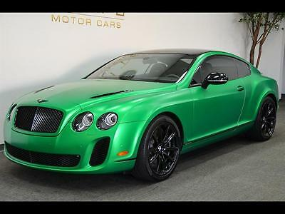2010 Bentley Other Supersports Coupe 2-Door 2010 Bentley Continental Supersports **MUST SEE**!!