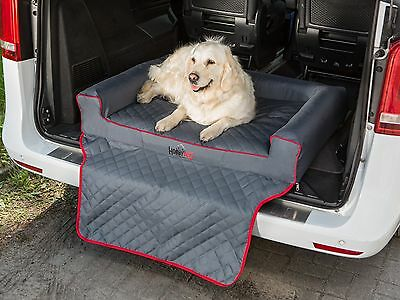 Dog Bed Car Boot Trunk Bumper Protect Cover 110x100cm Vehicle Transport Travel
