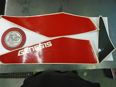 1992 Yamaha Fzr600 Side Cover Graphics   (1 Set)   N.o.s.