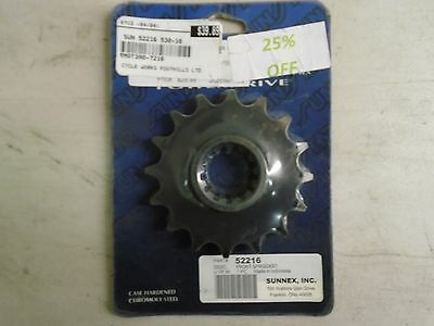 Sun 52216 Front Sprocket 530-16T see description beow for fitment