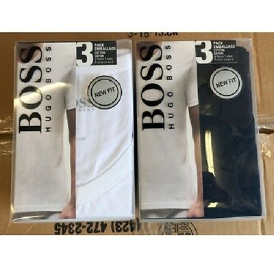 Hugo Boss 3pack v-neck tee 36pcs. [boss-v]  eFashionWholesale