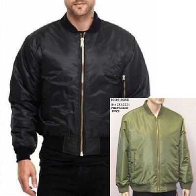 Mens bomber style flight jackets 16pcs. [B-jackets]
