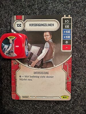 Star Wars Destiny Versorgungslinien Supply Line #51