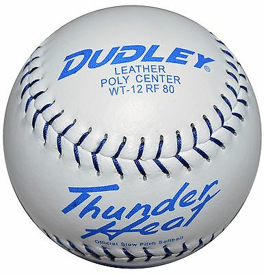 "Dudley Thunder Heat 12"" Softball USSSA Classic M (12 Pieces )"