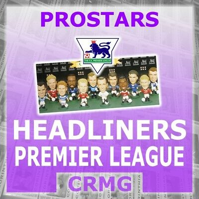 CRMG Corinthian Headliners PREMIER LEAGUE MANCHESTER UNITED (choose from list)