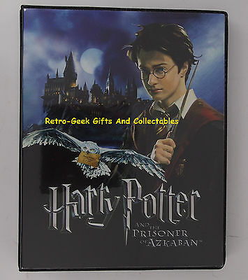 Harry Potter Prisoner Azkaban 4 Pocket Portfolio Trading Card Collection Folder
