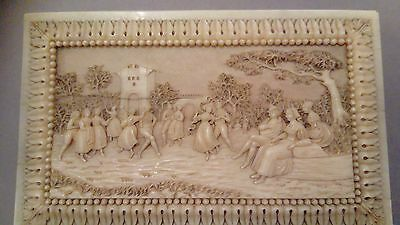 Outstanding German 19th Century Hand Carved notebook
