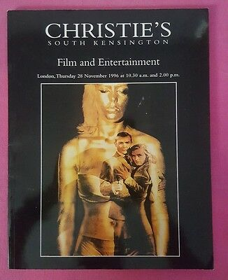 Christie's South Kensington Film & Entertainment London Catalog Nov 28, 1996