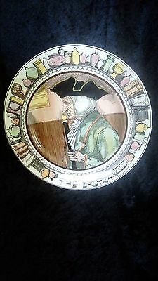 """Royal Doulton The Doctor Plate 10 1/2"""""""