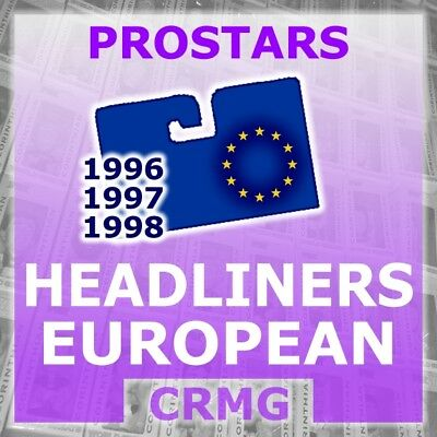 CRMG Corinthian Headliners SCOTTISH & EUROPEAN CLUB TEAMS (choose from list)
