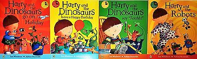 Harry And The  Dinosaurs Classic Stories Collection 4 Books Set