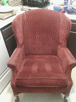 Vintage 1930's antique parlor chair