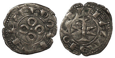 FRANCE County of Melgueil (Languedoc) Anonymous Issues 12th Century Denier Nice