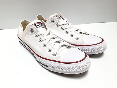 Converse Chuck Taylor All-Star White Low Tops US Men's 7.5