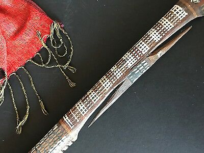 Old Australian Aboriginal Tiwi Islands Ceremonial Spear …beautiful collection pi