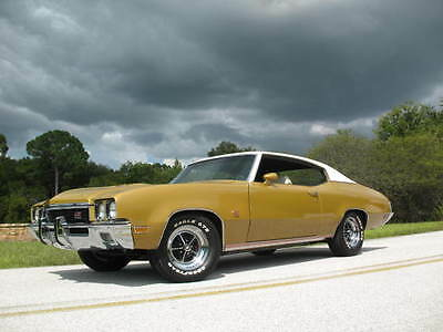 1972 Buick GS 455  1972 Buick GS 455 Original Nut & Bolt Frame Off Restoration & Re-man Drive Train