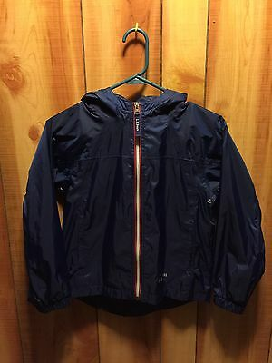 L.L. Bean Rain Jacket Youth Size 6-7 Blue