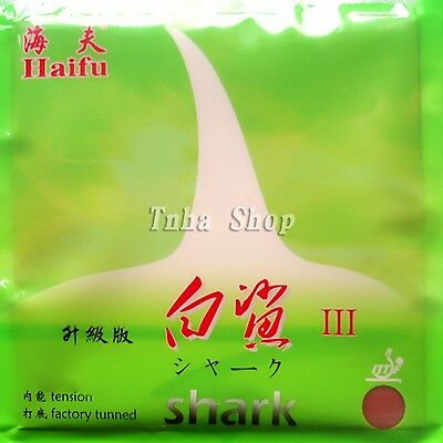 HaiFu Shark III (Factory Tuned) Pips-In Table Tennis Rubber With Sponge