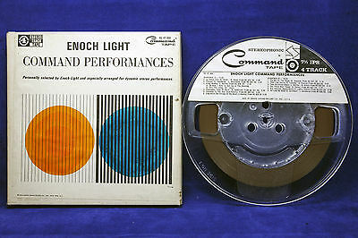 ENOCH LIGHT COMMAND PERFORMANCES Stereo 4-Track Open Reel Tape RS 4T 868 7.5 IPS