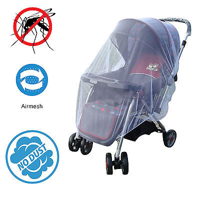 Universal Toddler Baby Pram Mosquitoes mozzie Net Insect Stroller Mesh Cover