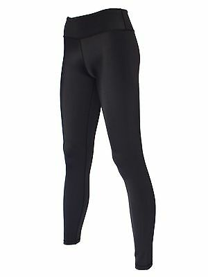 Blockout Full Length Active Tights Black With Moisture Wicking Nylon RRP $69-95