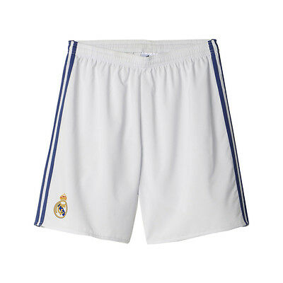 OFFICIAL REAL MADRID 16/17 HOME SHORTS size MENS L