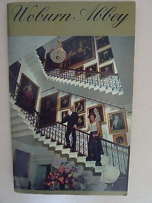 Woburn Abbey 1969 Souvenir Guide book signed by The Duke and Duchess of Bedford