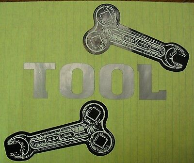 RARE 1995 TOOL BAND STICKERS & Vinyl Decal
