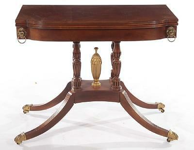 Baker Historic Charleston Collection Flip Top Table Williamsburg Style